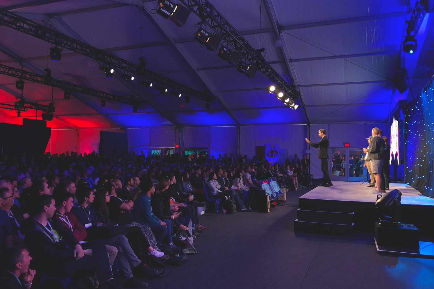 Headlining Google I/O conference
