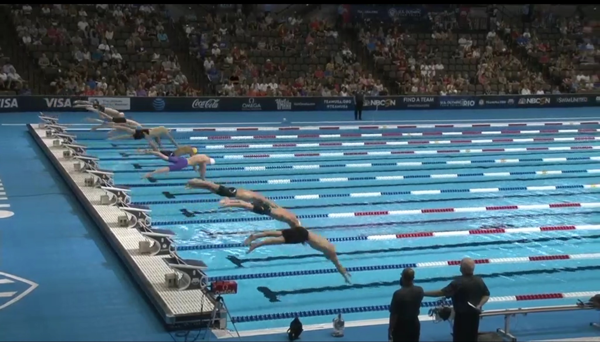 Olympic Swimming Trials